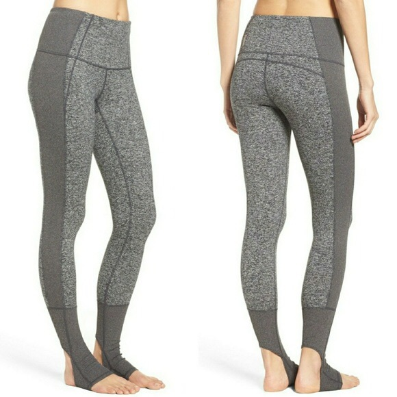 717b7529c389d Zella Pants | Gray Dance With Me Stirrup Legging | Poshmark